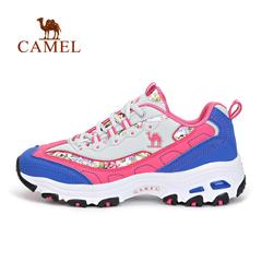 【2016新品】CAMEL骆驼户外女款越野跑鞋 防滑耐磨徒步越野跑鞋