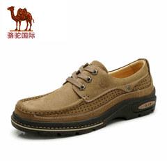 【新品】Camel/骆驼男鞋春季新款 真皮透气,户外休闲鞋男