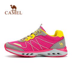 Camel骆驼户外 徒步鞋情侣鞋 透气耐磨网鞋减震徒步男女鞋