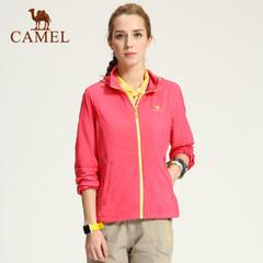 CAMEL骆驼户外皮肤衣 春夏透气女款快干运动皮肤风衣