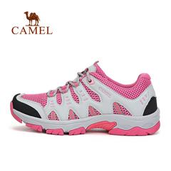 CAMEL骆驼户外女款徒步鞋休闲旅途低帮透气徒步鞋