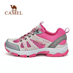 CAMEL骆驼户外登山鞋女款春夏网布舒适透气耐磨防滑网鞋