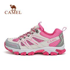 CAMEL骆驼户外女款徒步鞋  女士春夏透气舒适耐磨徒步鞋