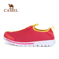 CAMEL骆驼户外徒步鞋 春夏款男女轻便套脚网鞋出游徒步鞋