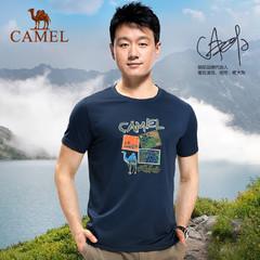 【佟大为同款】CAMEL骆驼户外速干T恤 夏季款男女情侣透气短袖T恤