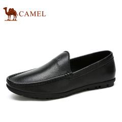 Camel/骆驼男鞋 日常休闲皮鞋春季真皮男鞋男士休闲鞋子皮鞋子