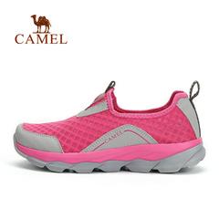 CAMEL骆驼户外情侣款徒步网鞋 春夏男女款透气轻便徒步鞋