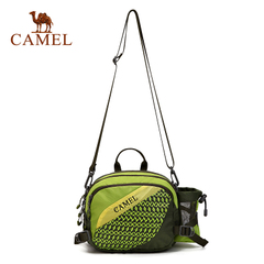 CAMEL骆驼户外腰包 5L男女款运动休闲腰包徒步旅行腰包