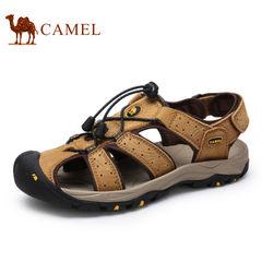 【情侣款】Camel/骆驼沙滩鞋 男女鞋牛皮 夏季 户外休闲凉鞋