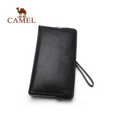【新品】Camel男包骆驼2016新款男士手拿包商务休闲横款手抓包男