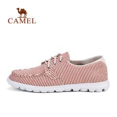 CAMEL骆驼户外女款休闲徒步鞋 轻便透气吸汗女休闲鞋