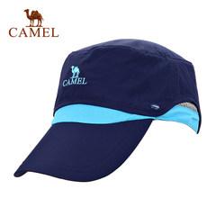 CAMEL骆驼户外旅游春夏 快干帽子 男女通用可拆卸棒球帽