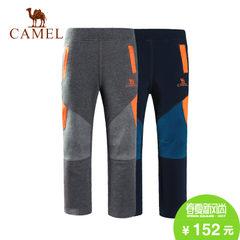 CAMEL骆驼户外童装 儿童休闲针织裤青少年男女童裤装长裤