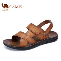 【断码清仓】Camel/骆驼男鞋沙滩鞋日常休闲舒适露趾透气男士凉鞋