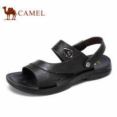 【断码清仓】Camel/骆驼男鞋夏季日常休闲百搭清凉牛皮凉鞋男