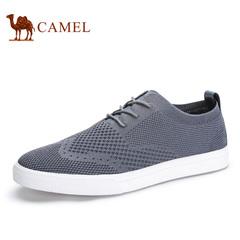 Camel/骆驼男鞋透气休闲鞋春季网鞋网布鞋滑板鞋潮鞋男士