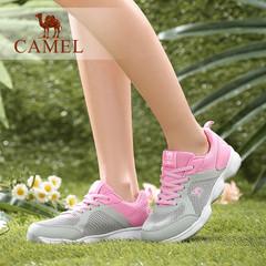 Camel/骆驼女鞋 运动休闲 夏季单鞋圆头系带运动女鞋子夏