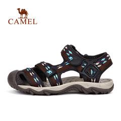 CAMEL骆驼户外男女沙滩凉鞋 情侣织带出游沙滩鞋耐磨防滑凉鞋