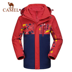 CAMEL骆驼童装 春冬儿童青少年两件套四季可穿三合一冲锋衣