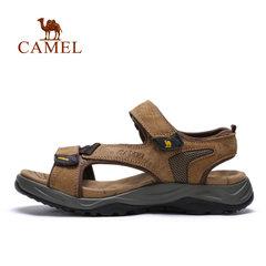 【断码清仓】Camel骆驼户外凉鞋夏季休闲男凉鞋魔术贴沙滩鞋