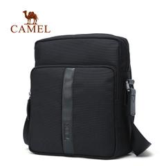 【新品】Camel骆驼2016新款男包 时尚休闲百搭竖款 单肩斜跨包男