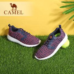 Camel/骆驼女士越野跑鞋 女款减震透气针织网时尚运动鞋女鞋
