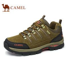 Camel/骆驼情侣鞋户外运动透气牛皮舒适跑鞋男女鞋徒步休闲鞋
