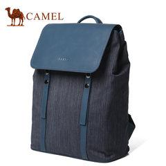 Camel/骆驼男包新款男士双肩包时尚潮流书包旅行包包男背包大容量