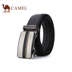 【新品】Camel/骆驼2016新款男士商务休闲皮带 百搭自动扣腰带