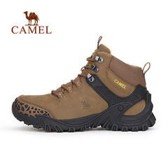 【2016新品】CAMEL骆驼户外登山鞋 男士透气耐磨减震登山鞋男鞋