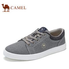 CAMEL骆驼2017春季新款时尚帆布鞋男休闲鞋低帮韩版板鞋子潮流