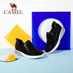 Camel/骆驼女鞋  2016秋季新款 时尚休闲女鞋 日常舒适女单鞋女