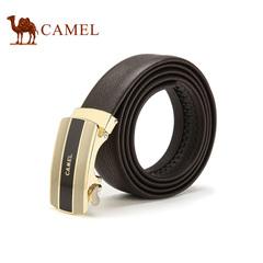 Camel/骆驼2016新款男士皮带商务休闲牛皮自动扣腰带男款正装皮带