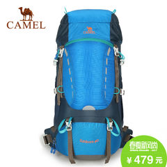 CAMEL骆驼户外登山包 40L徒步野营登山双肩包旅游包