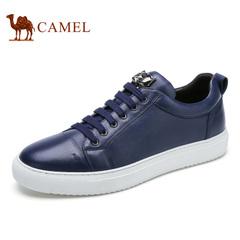 Camel/骆驼男鞋春季低帮系带鞋男士休闲鞋时尚滑板鞋 潮鞋子男