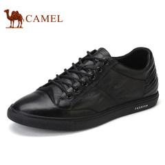 CAMEL骆驼男鞋真皮休闲鞋舒适轻便流行男鞋时尚板鞋低帮鞋单鞋