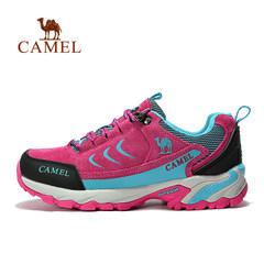 camel/骆驼户外情侣款徒步鞋 男女款低帮防滑户外鞋