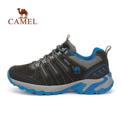 CAMEL骆驼户外徒步鞋 男女情侣款反绒皮减震耐磨徒步鞋