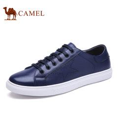 Camel/骆驼男鞋春季时尚休闲潮鞋滑板鞋系带鞋男潮流男鞋