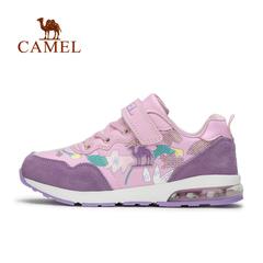 CAMEL骆驼户外女童慢跑鞋 青少年减震舒适运动跑步鞋