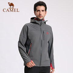camel/骆驼户外软壳衣 情侣款耐磨保暖舒适软壳衣男女款