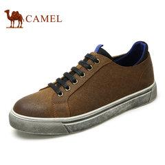 Camel骆驼男鞋 春季时尚潮流流行滑板鞋小脏鞋休闲男鞋
