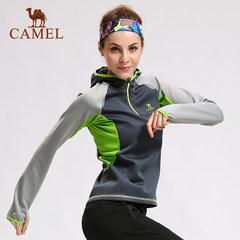 camel/骆驼户外跑步运动上衣 女款时尚透气运动服