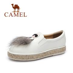 Camel/骆驼女鞋 春季 俏皮休闲女鞋 舒适日常套脚女单鞋
