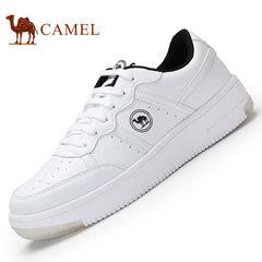 CAMEL骆驼休闲情侣板鞋 轻便舒适男女低帮鞋系带时尚休闲鞋子百搭