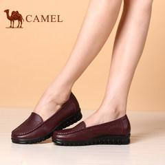 骆驼女鞋新款女鞋 舒适休闲套脚鞋时尚百搭单鞋平底