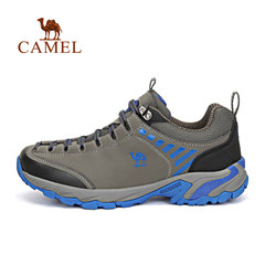 CAMEL骆驼户外情侣款徒步鞋 男女减震透气防滑徒步鞋
