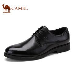 Camel/骆驼 男鞋春季商务正装 系带优质牛皮男士皮鞋