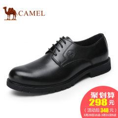 CAMEL骆驼男鞋2017新品男士商务正装皮鞋男真皮系带英伦牛皮