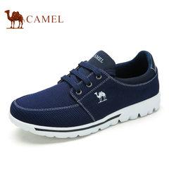 Camel 骆驼男鞋夏季透气运动 简约时尚休闲 网布鞋 低帮男鞋